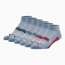 Wordmark 1/2 Terry Men's Low Cut Socks [6 Pack]